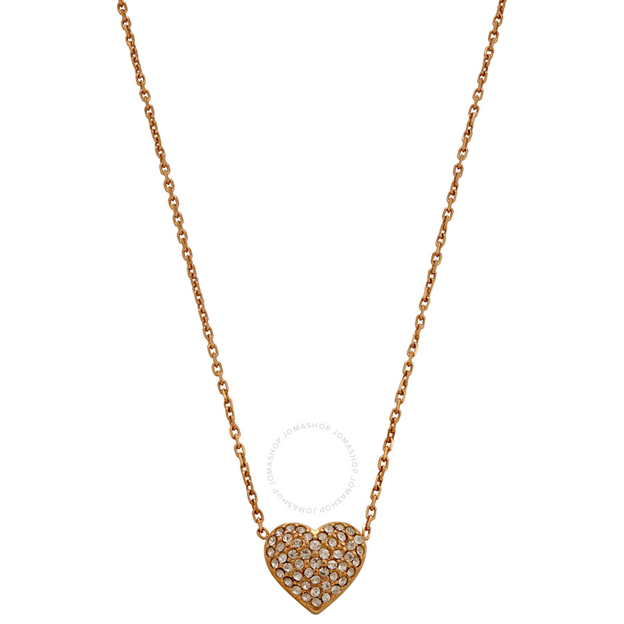Michael Kors Rose Gold-Tone Brilliance Necklace MKJ3039791