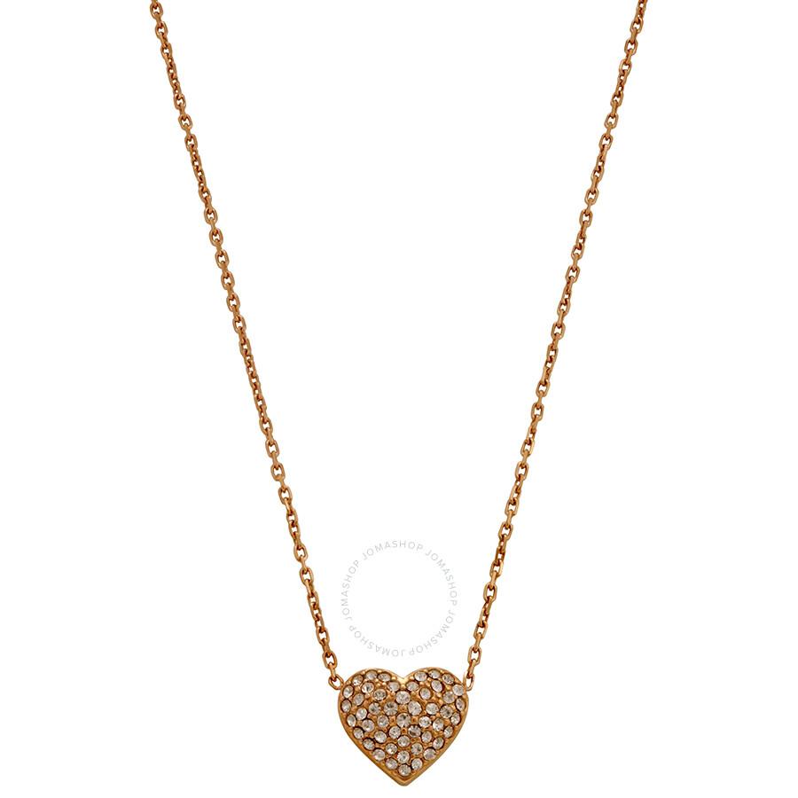 Michael Kors Rose Gold-Tone Brilliance Necklace MKJ3039791
