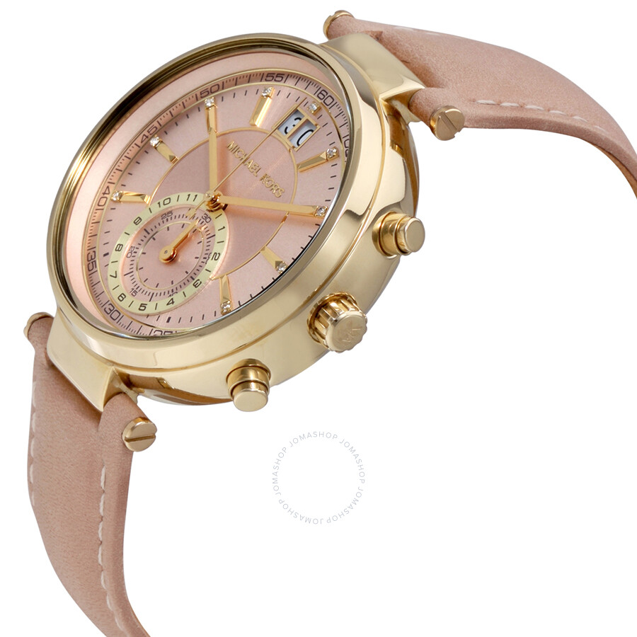 diamond ladies misaki signature watch pearl deco michele chronograph of dial watches mother