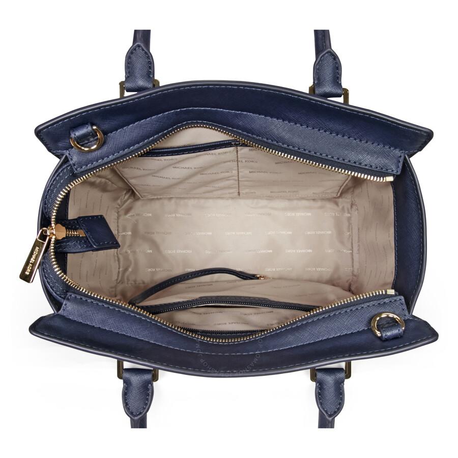 ... discount michael kors selma saffiano leather medium satchel admiral  4d57b 32e7c 22842f02eba09