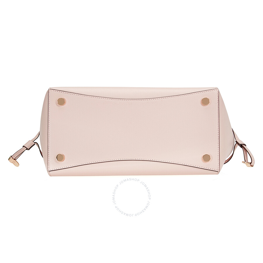cac60eae0d257 ... promo code for michael kors voyager textured crossgrain leather tote  soft pink 20ebd 1def1