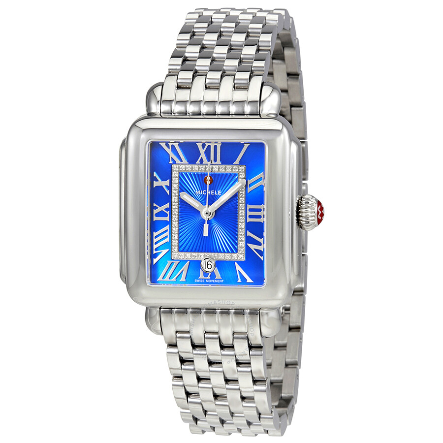 watches serein mother stainless pearl steel of dial ladies watch michele