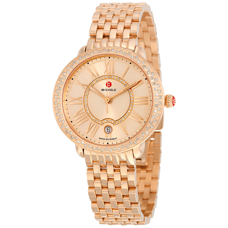 Michele Serein Diamond Watch