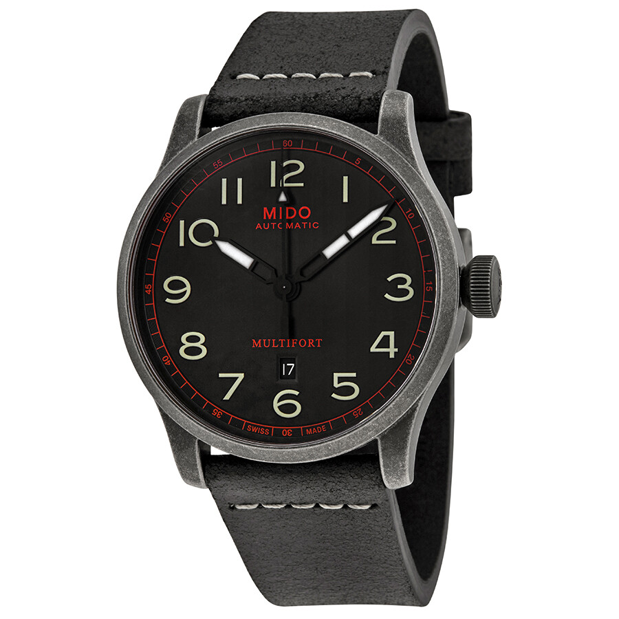 Mido multifort automatic men 39 s watch multifort mido watches jomashop for Mido watches