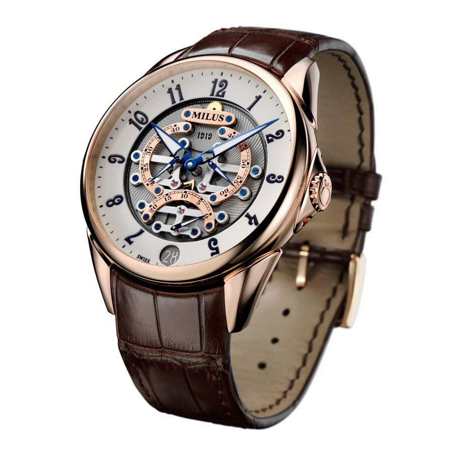 Milus Tirion TriRetrograde Automatic Mens Watch TIRI600