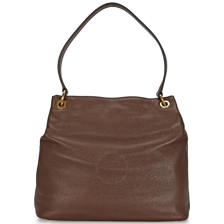 b89f781639 Miu Miu Rosewood Leather Hobo Bag …