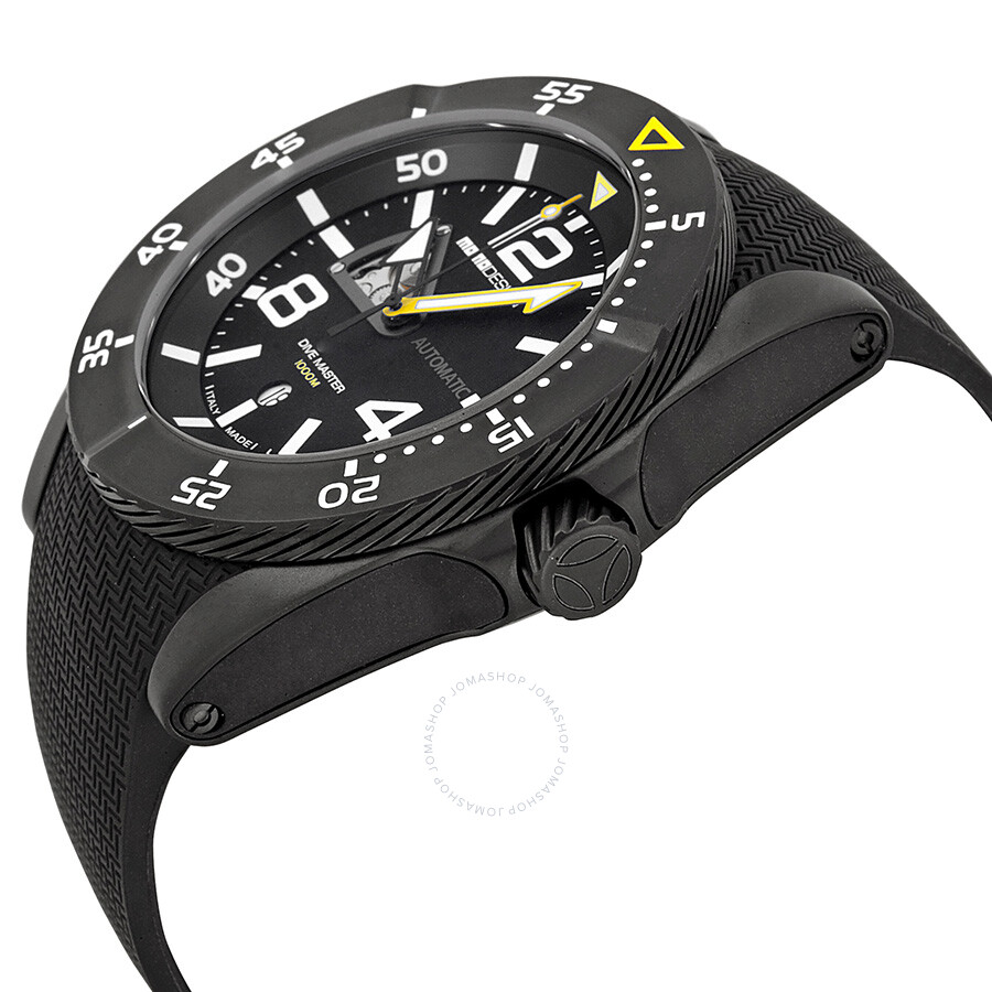 swiss dive watches divemaster automatic master diver black