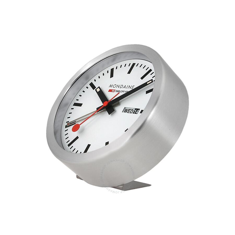 Mondaine White Dial Frame Desk Wall Clock A993mcal16sbb