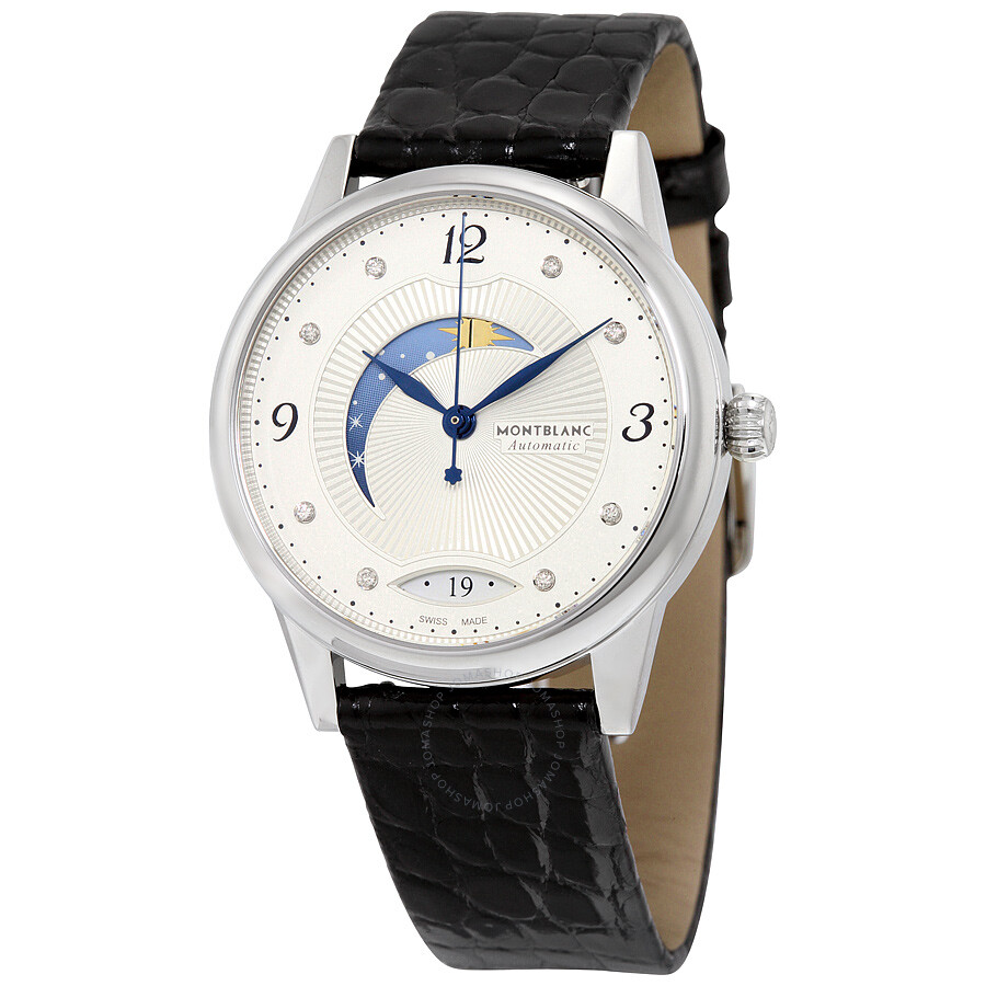 Montblanc boheme day and night diamond dial ladies watch 112512 boheme montblanc watches for Montblanc watches
