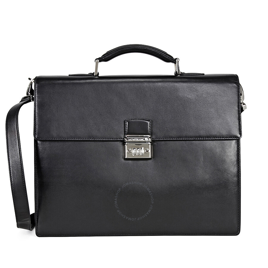 Pre-owned - Leather bag Montblanc EDVxLT