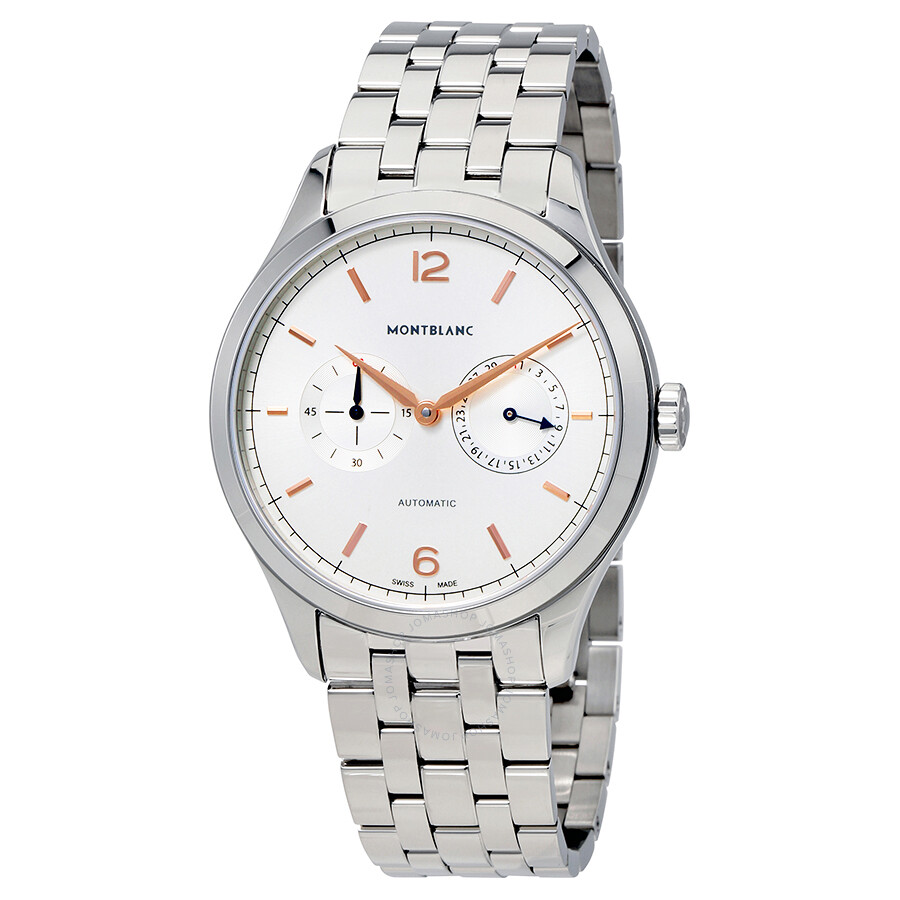 MontBlanc Heritage Chronometrie Automatic Mens Watch 114873