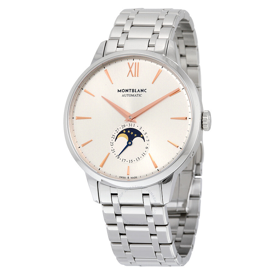 Montblanc Heritage Spirit Moonphase Automatic Mens Watch 111621