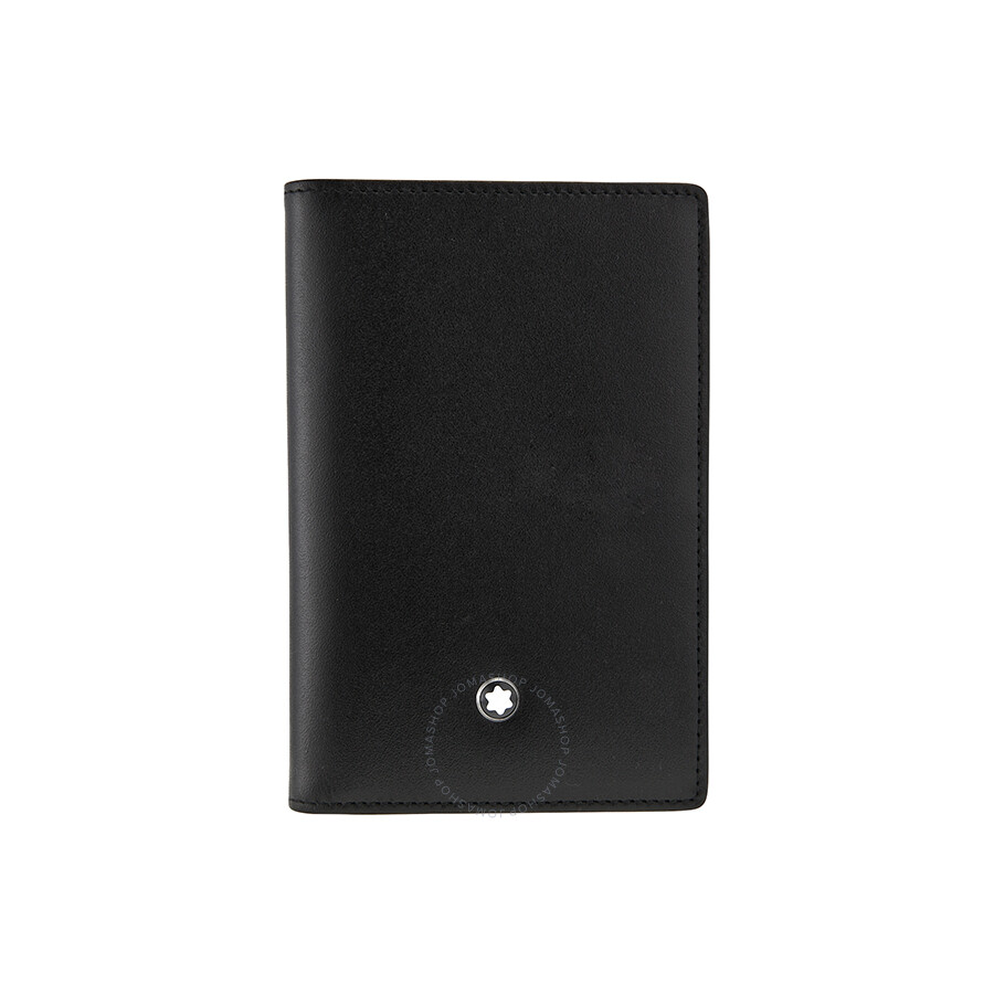 montblanc meisterstuck business card holder 14108 - Business Card Holder Wallet