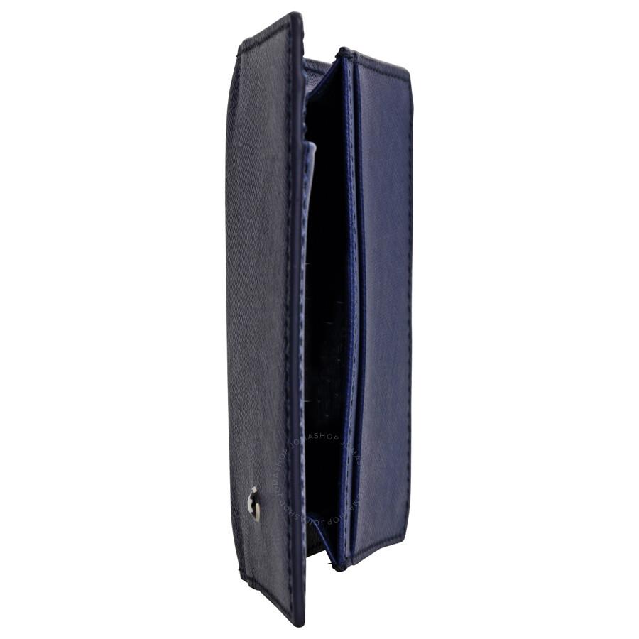 Montblanc sartorial leather business card holder indigo montblanc sartorial leather business card holder indigo colourmoves