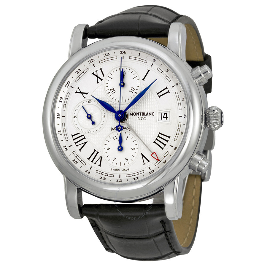 Montblanc star chronograph utc automatic men 39 s watch 107113 star montblanc watches jomashop for Montblanc watches