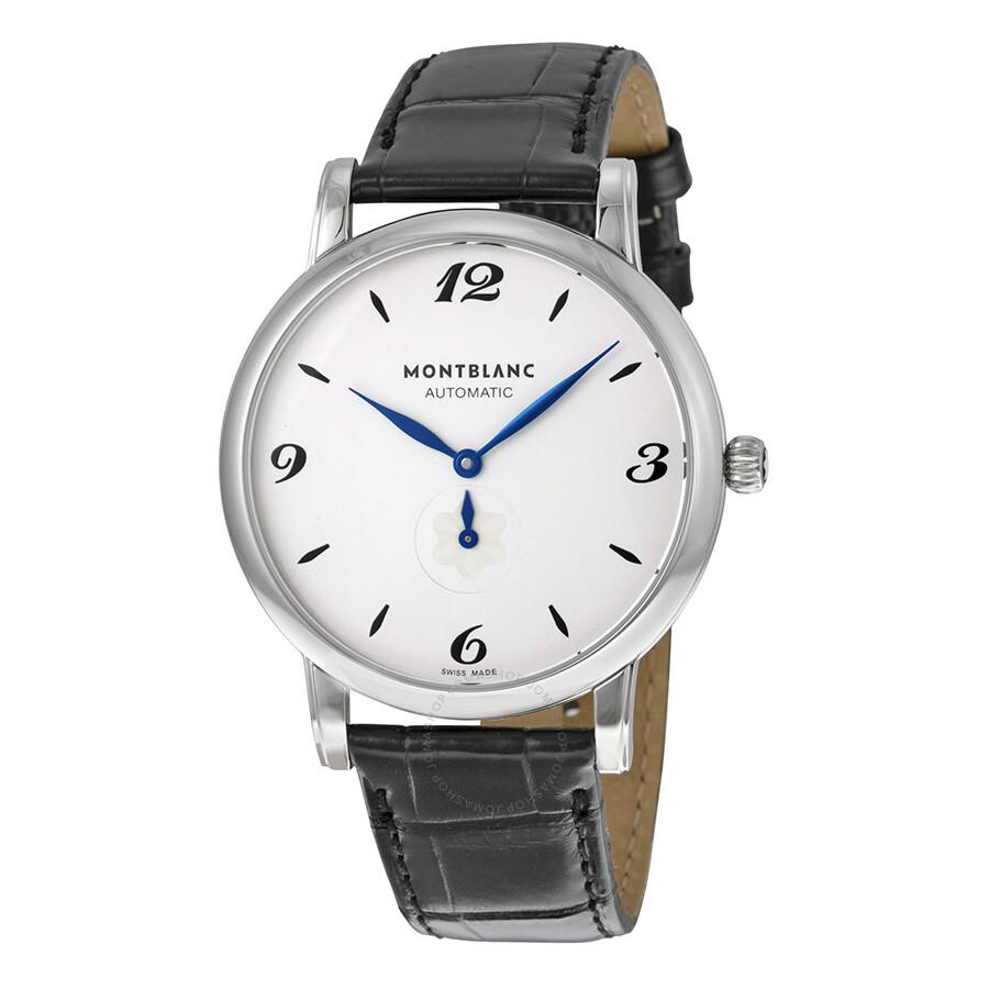 Montblanc star classique white dial men 39 s watch 107073 star montblanc watches jomashop for Montblanc watches