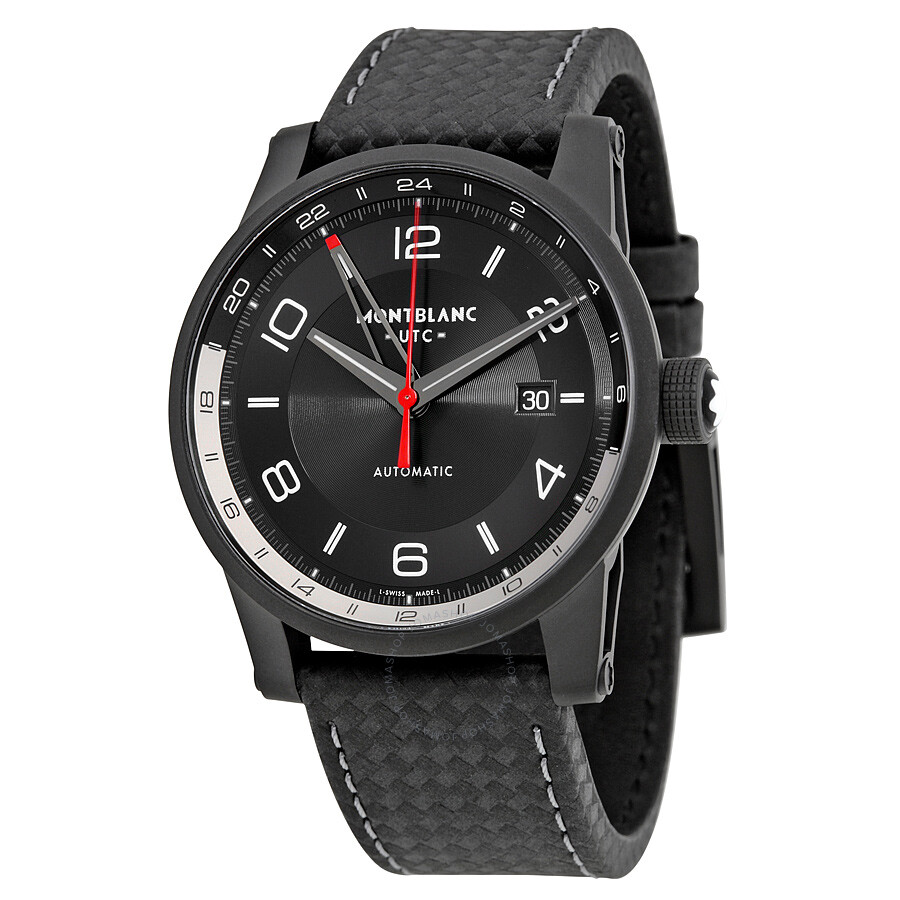 montblanc gemnation com watch men zm timewalker watches s black at mount model