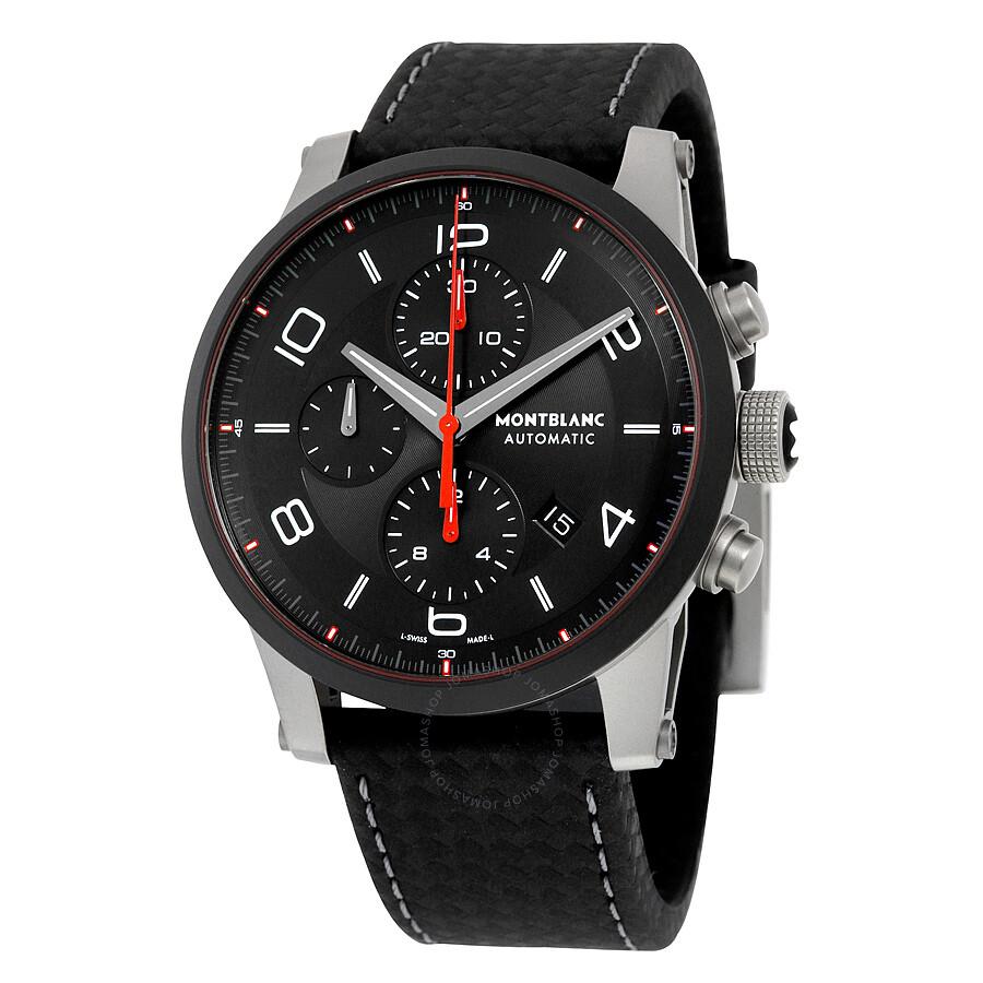 Montblanc timewalker urban speed chronograph automatic men 39 s watch 112604 timewalker for Montblanc watches