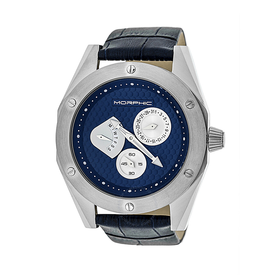 Morphic M46 Multifunction Navy Blue Dial Mens Watch MPH4603