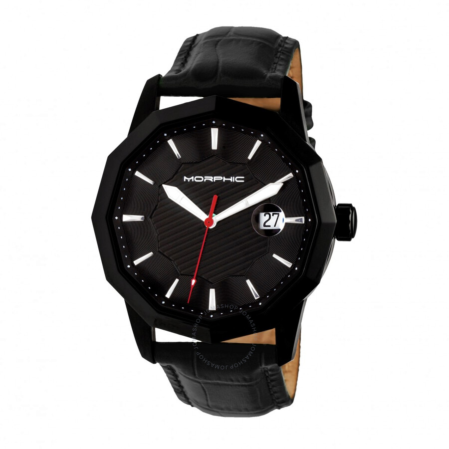 Morphic M56 Series Black Dial Mens Watch 5606