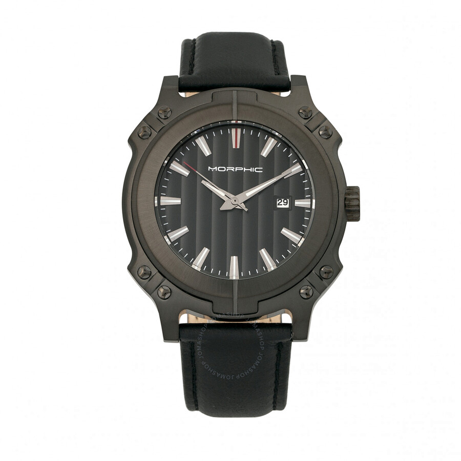 Morphic M68 Series Black Dial Mens Watch 6805