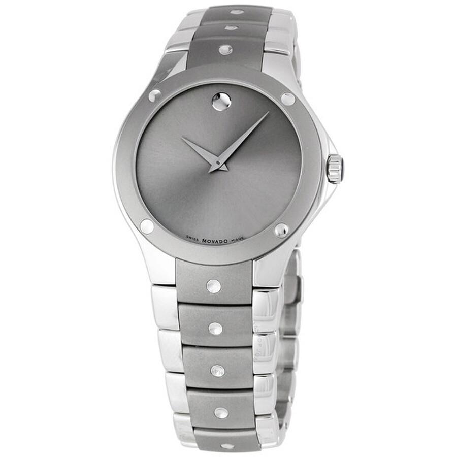 Movado SE Titanium Mens Watch 0605989