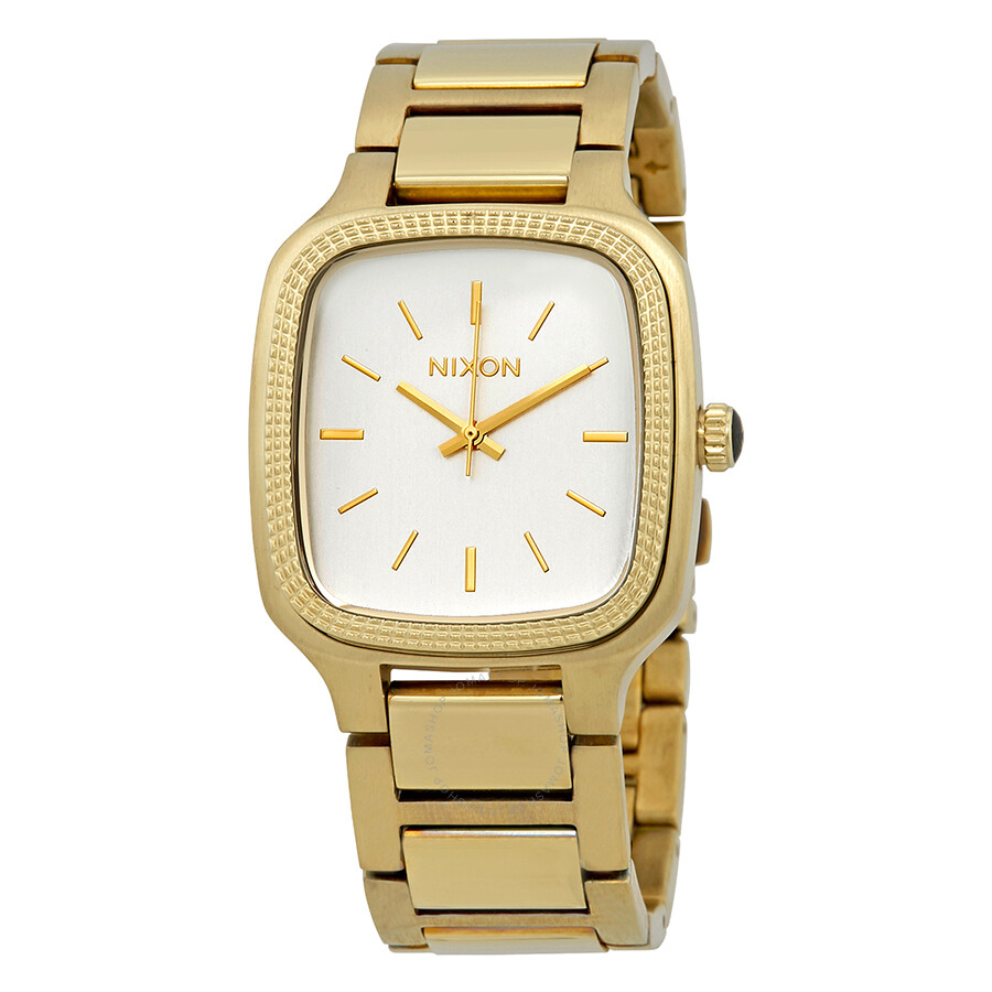 Nixon Shelley Ladies Gold Tone Stainless Steel Watch A3621219