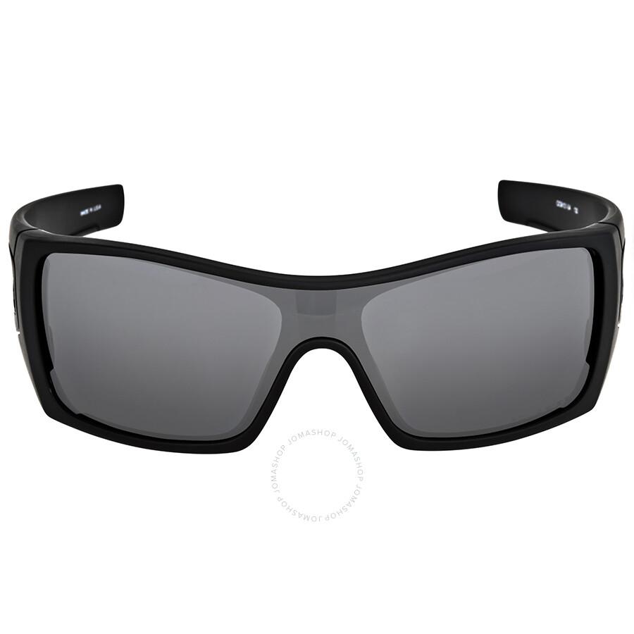 Oakley Batwolf Matte Black Polarized Sunglasses OO9101-910104-27 ...