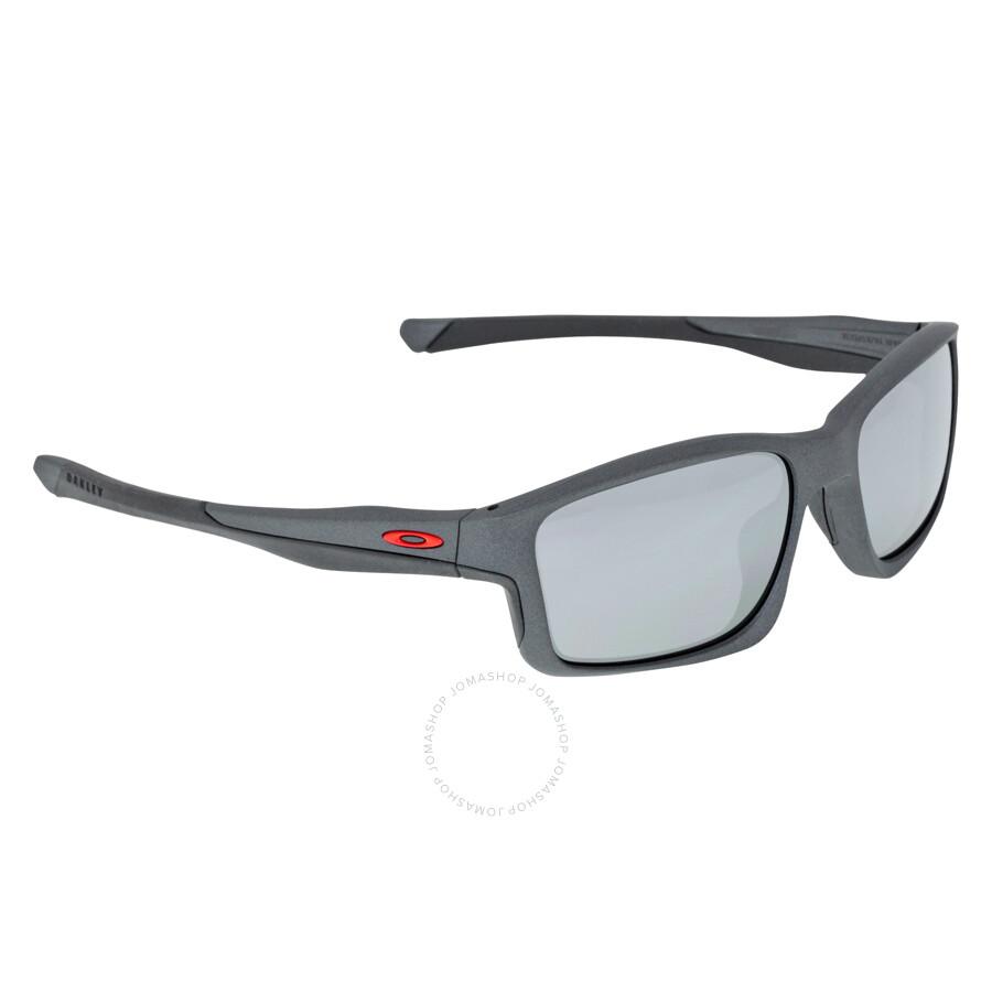 4f68612d77 ... spain oakley chainlink sport sunglasses matte steel black iridium b8cf7  ba139