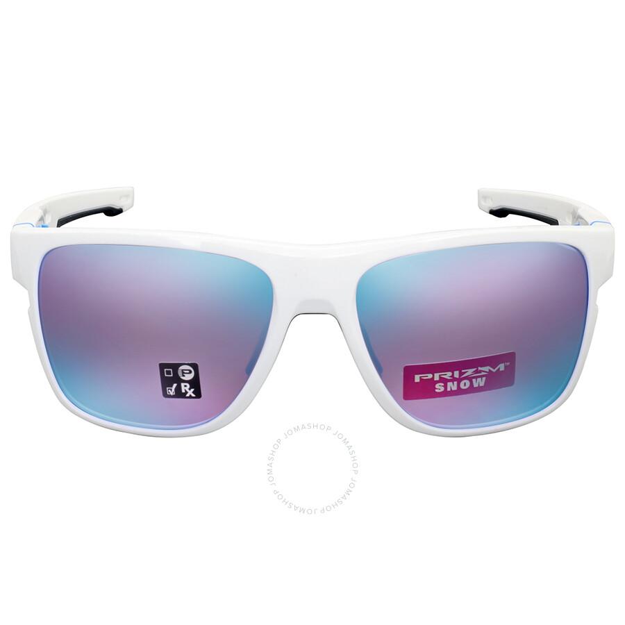 Oakley Crossrange XL Prizm Snow Iridium Damen Sonnenbrille Weiß 8zC55Jzu5