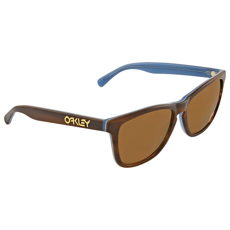 f0a53411e6 discount oakley unisex frogskins gray frame blue lens oval 55mm sunglasses  88c04 65796  denmark oakley frogskins lx polarized bronze sunglasses 5818f  3de9f