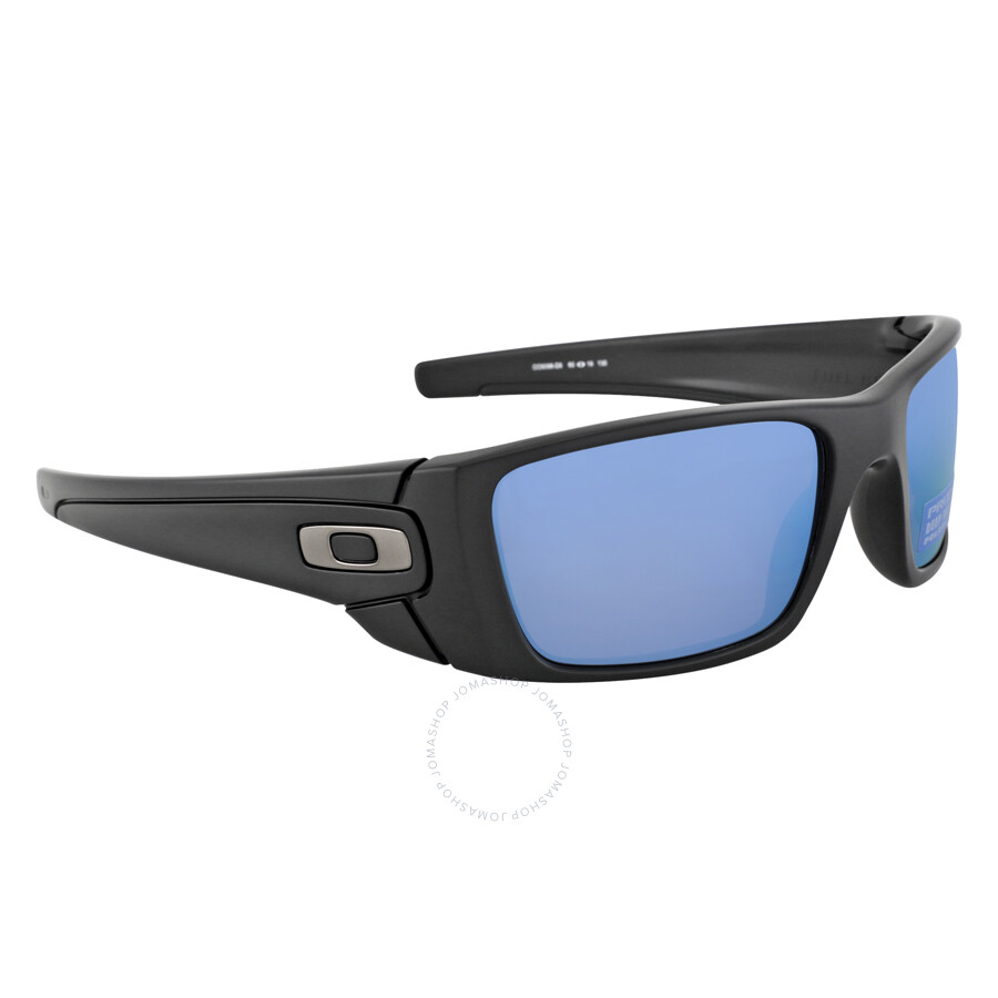 Oakley Fuel Cell Prizm Deep Water Sunglasses - Matte Black/Polarized ...
