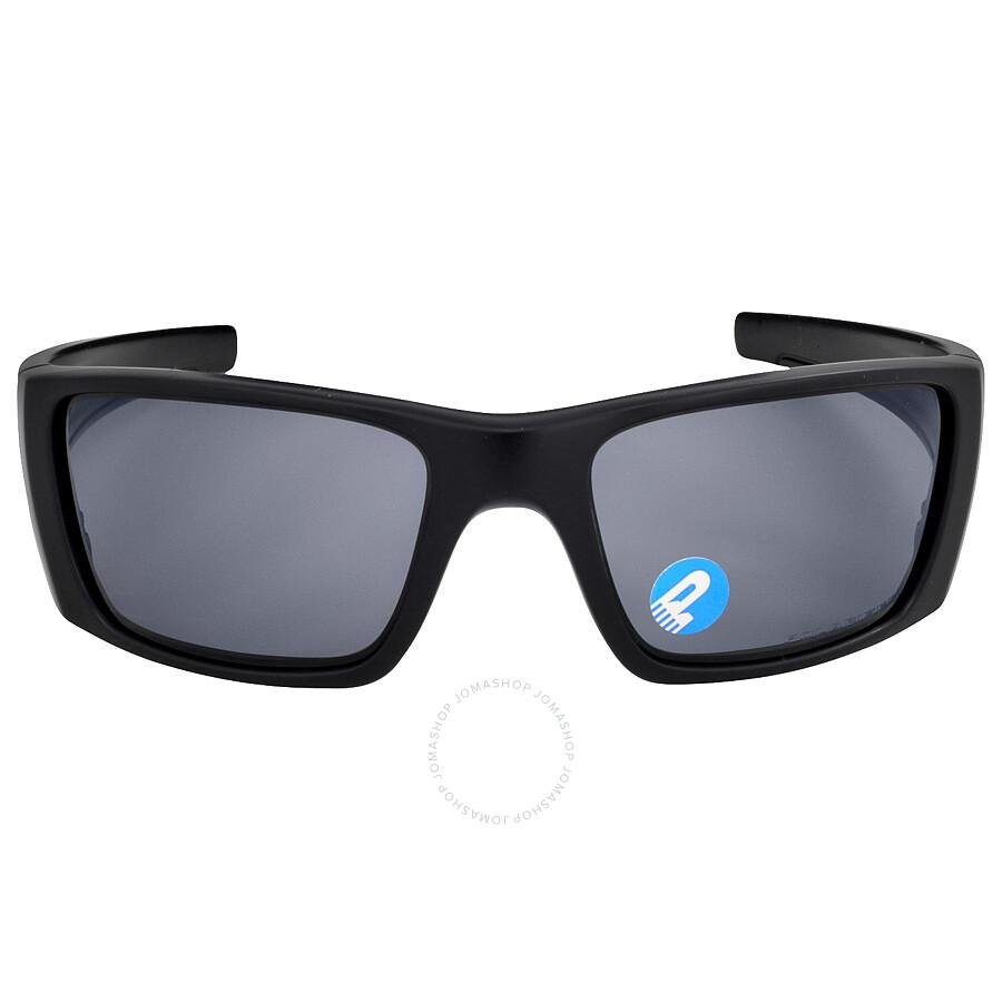 Oakley Fuel Cell Sunglasses - Matte Black/Grey Polarized ...