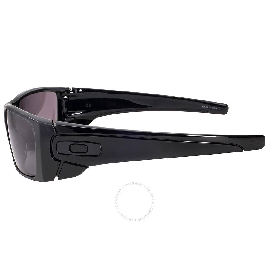 Oakley Fuel Cell Wrap Sunglasses - Polished Black/Warm Grey - Oakley ...