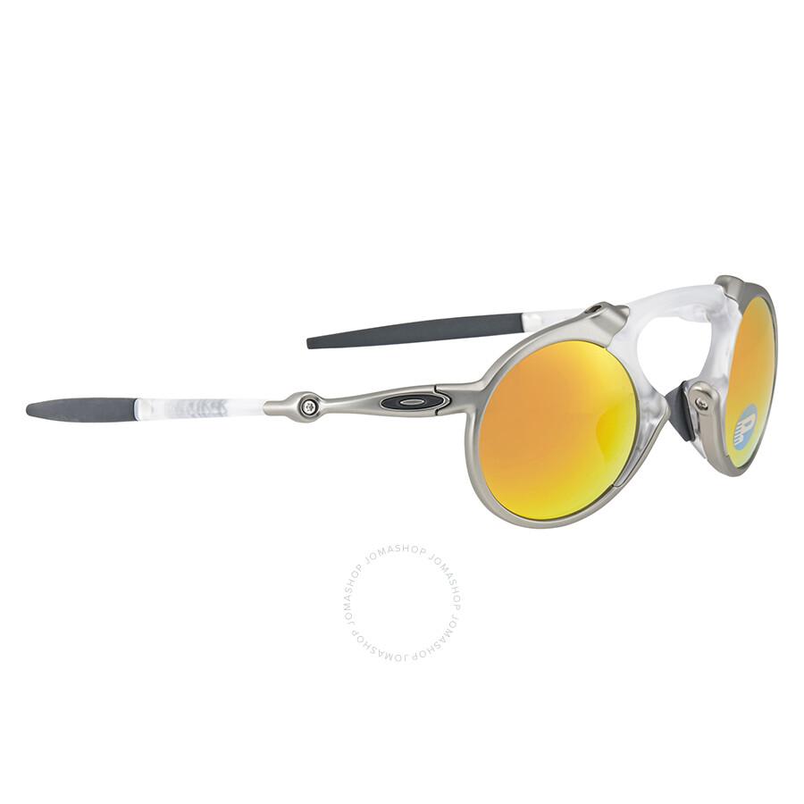 ad1a939e0e ... polarized f87e8 b7e80  czech oakley madman fire iridium round  sunglasses oakley madman fire iridium round sunglasses b1825 49dfd