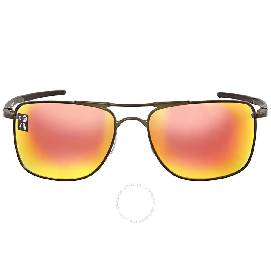 6d5218a805 closeout oakley ruby iridium square mens sunglasses oo4124 412403 62 ac01e  b0e79