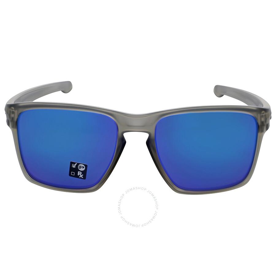 37e18639ae473 Oakley Sliver XL Polarized Sapphire Iridium Sunglasses