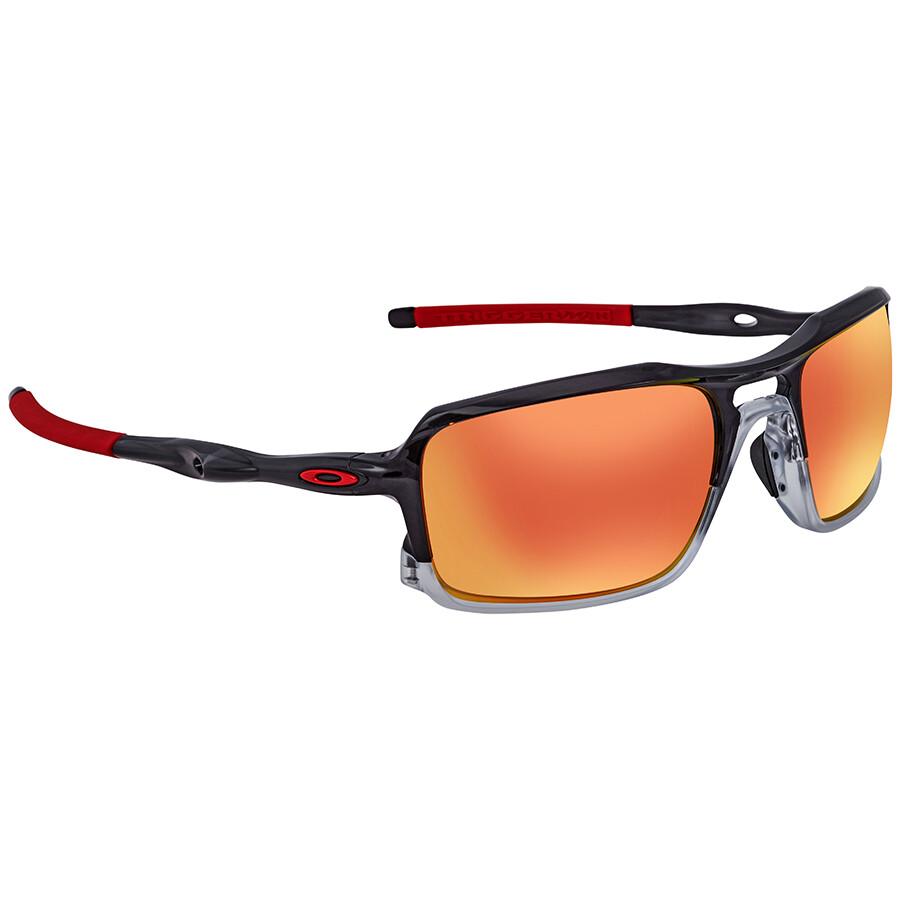 d767281ea389 ... australia oakley triggerman ruby iridium rectangular mens sunglasses  oo9266 926610 59 ef553 29b9e