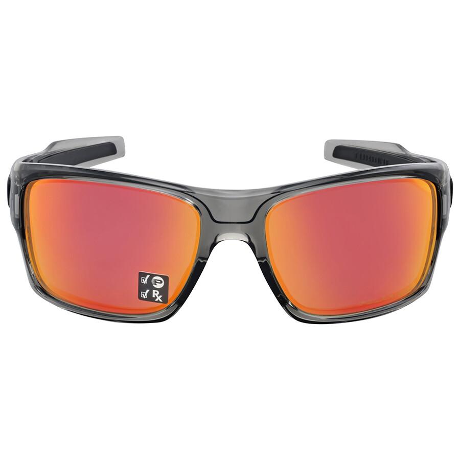 5cac71393f UPC 888392076342. Oakley Men s Turbine OO9263-10 Polarized Iridium  Rectangular Sunglasses