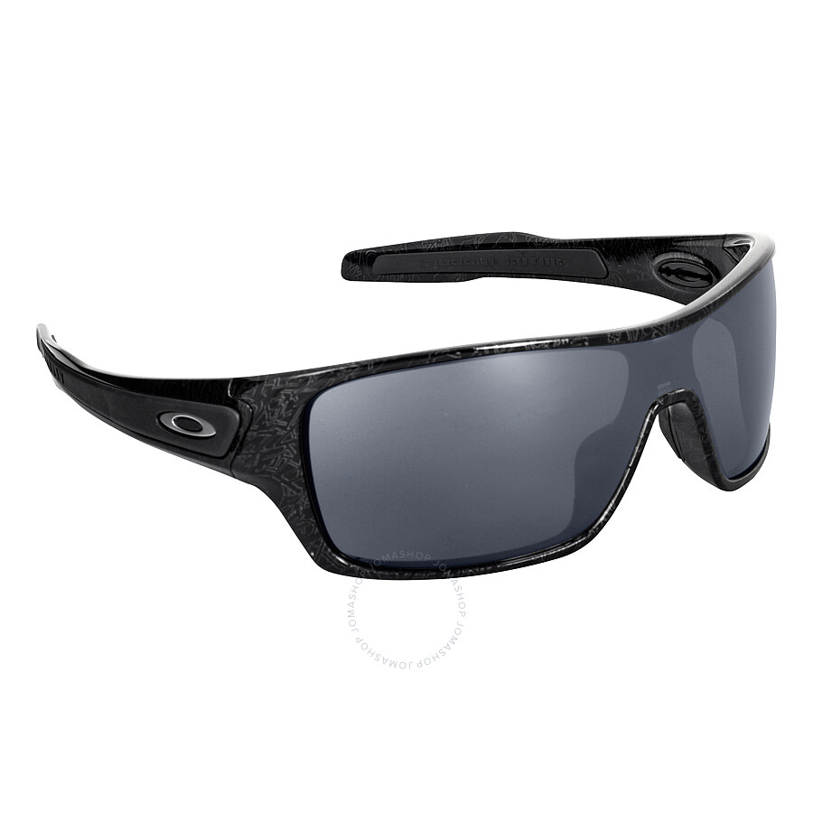 Oakley Turbine Rotor ghost text/black iridium 2018 Sonnenbrillen UamIFBCKqR