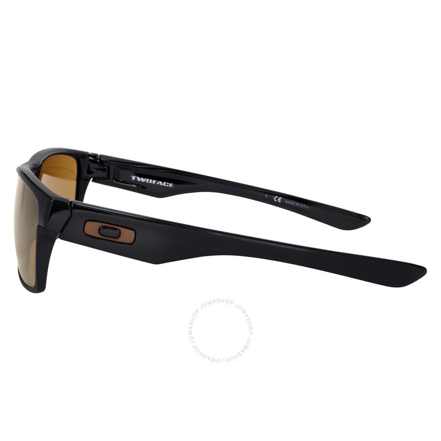 f236107b0fa ... denmark oakley twoface sunglasses polished black dark bronze 4d918 71b3a