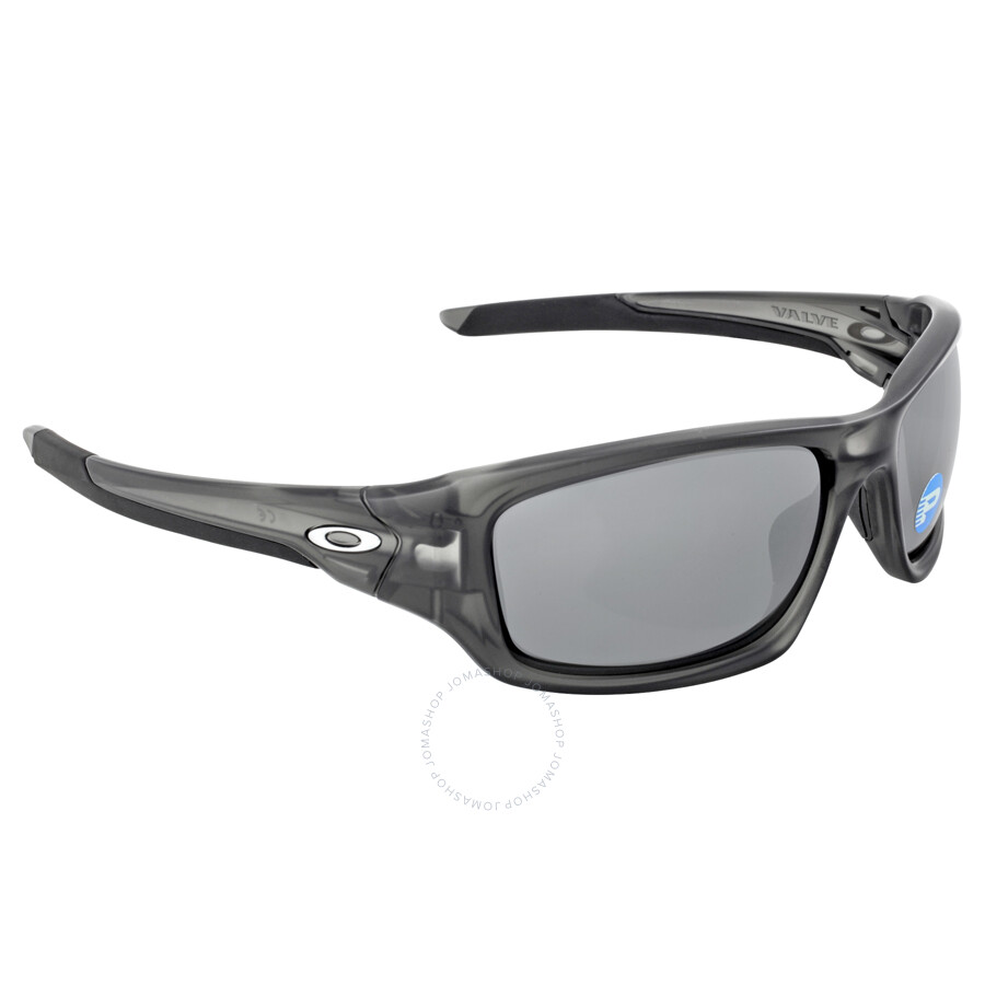 1a81a846b72ab ... new arrivals oakley valve sunglasses matte grey smoke black iridium  polarized ce288 da3bc