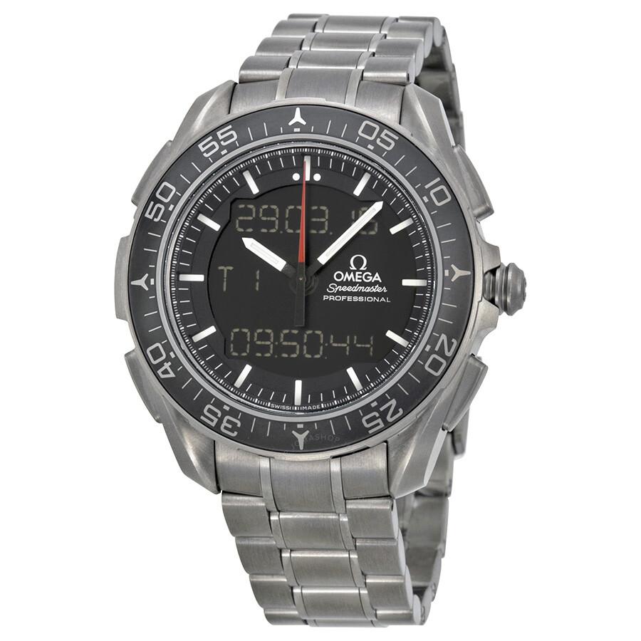 Omega Speedmaster Skywalker X-33 Black Dial Titanium Mens Watch 31890457901001