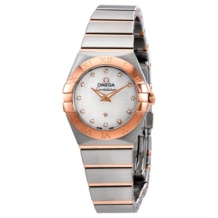 Omega Constellation Mother of Pearl Dial Ladies Watch 123.20.24.60.55.007