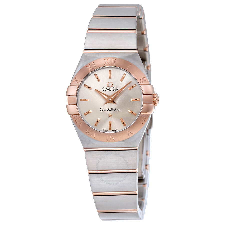 Omega Constellation Silver Dial Ladies Watch 123.20.24.60.02.001