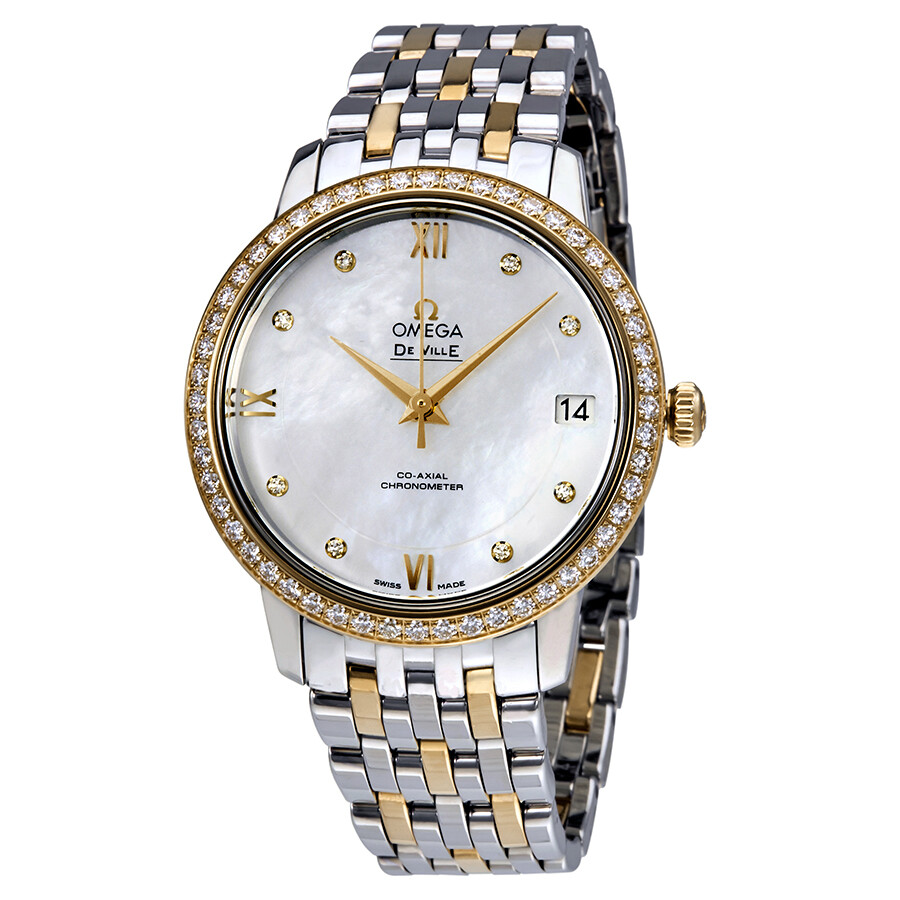 Omega De Ville Mother of Pearl Dial Ladies Watch 424.25.33.20.55.001