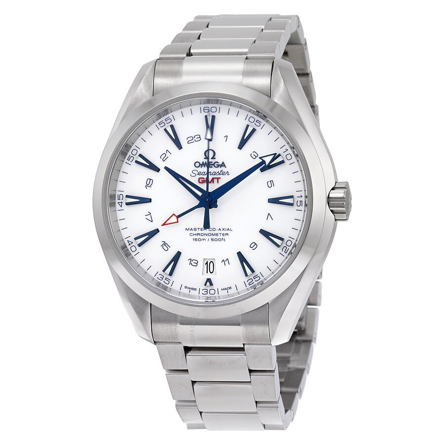 Omega Seamaster Aqua Terra Automatic GMT Mens Watch 23190432204001
