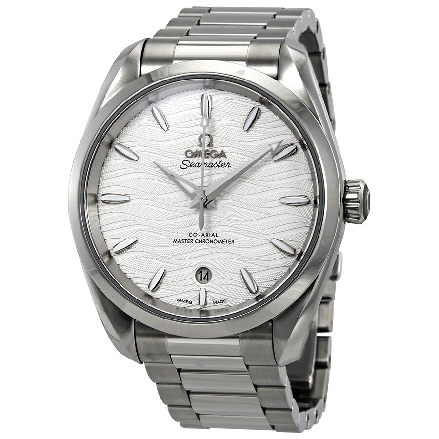 Omega Seamaster Aqua Terra Co-Axial Master Chronometer Automatic Silver Dial..