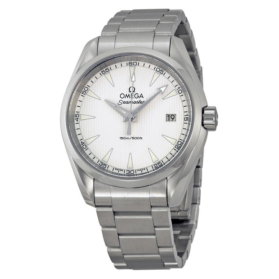 Omega seamaster aqua terra men 39 s watch 23110396002001 seamaster aqua terra omega watches for Omega watch seamaster