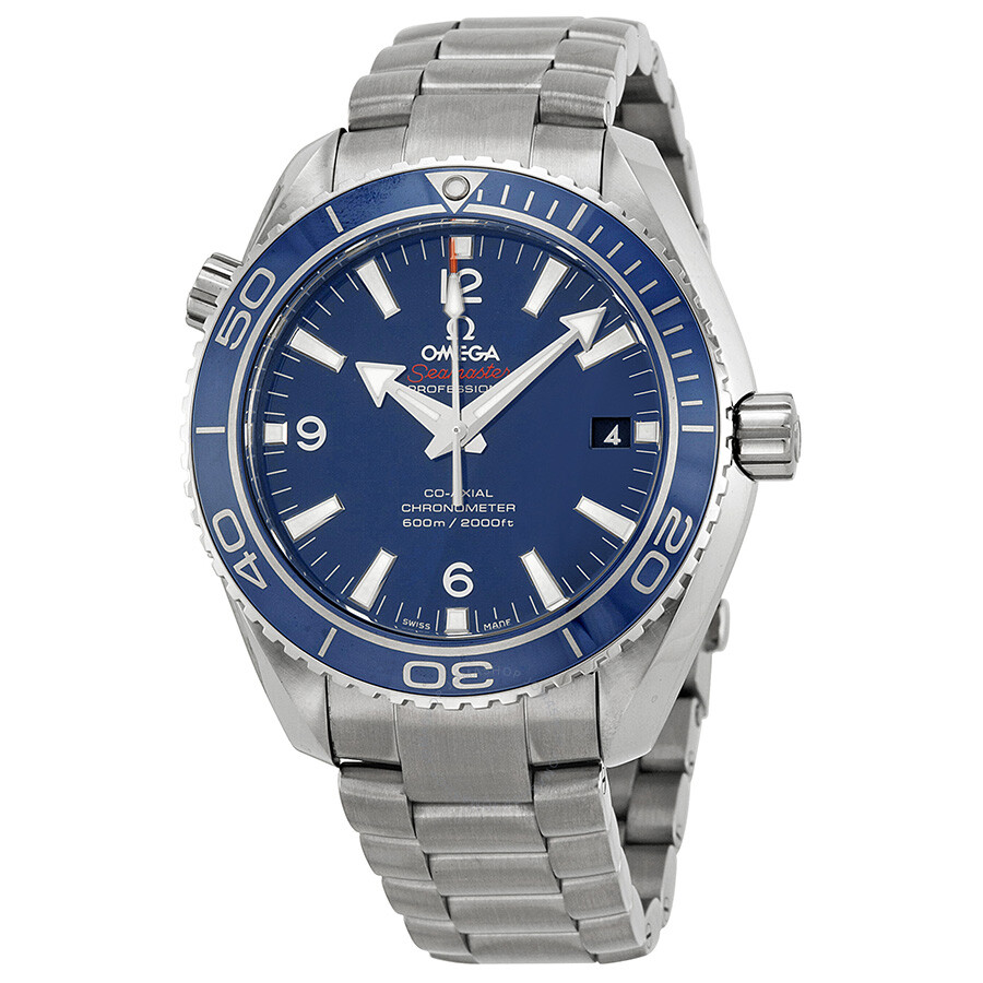 Omega seamaster planet ocean titanium 600 m omega co axial 42 mm men 39 s watch for Omega watch seamaster